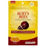 Burt's Bees Natural Throat Drops – Honey & Pomegranate 20 ct Respiratory Health