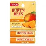 Burt's Bees Moisturizing Lip Balms 2 Pack – Mango 2/0.15 oz Balm