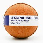 Cbd Living Bath Bomb – Amber Bergamot 8 oz Bars
