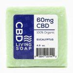 Cbd Living Soap – Eucalyptus 4.5 oz Bars