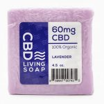 Cbd Living Soap – Lavender 4.5 oz Bars
