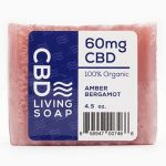 Cbd Living Soap – Amber Bergamot 4.5 oz Bars