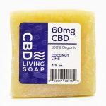 Cbd Living Soap – Coconut Lime 4.5 oz Bars