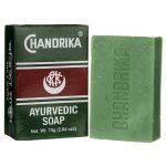 Chandrika Ayurvedic Soap 2.64 oz Bars