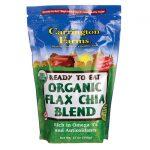 Carrington Farms Ready To Eat Organic Flax Chia Blend 12 oz Package Essential Fatty Acids