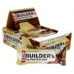 Clif Bars Builders Protein Bar – Vanilla Almond 12 Bars