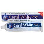 Coral LLC White Toothpaste – Tea Tree 6 oz Paste
