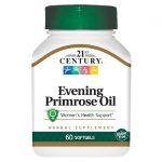 21st Century Evening Primrose Oil 500 mg 60 Soft Gels Essential Fatty Acids