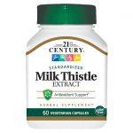 21st Century Milk Thistle Extract 175 mg 60 Veg Caps Liver Health