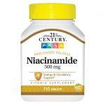 21st Century Niacinamide 500 mg 110 Tabs B Vitamins