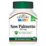 21st Century Saw Palmetto 450 mg 60 Veg Caps Herbs and Supplements