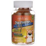 21st Century Zoo Friends Multi Gummies Plus Extra C 60 Gummies Children's Multivitamins