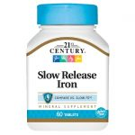 21st Century Slow Release Iron 45 mg 60 Tabs Health Minerals