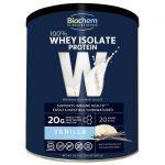 Biochem 100% Whey Isolate Protein – Vanilla 30.2 oz Powder