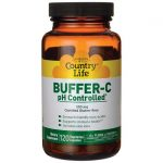 Country Life Buffer-C ph Controlled 500 mg 120 Veg Caps Vitamin C Immune Support