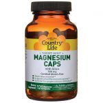 Country Life Target-Mins Magnesium Caps with Silica 300 mg 120 Veg Caps Bone Health