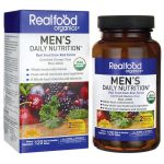Country Life Realfood Organics Men's Daily Nutrition 120 Tabs Multivitamins