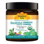 Country Life Realfood Organics Probiotic Daily Powder 5 Billion CFU 3.1 oz Powder