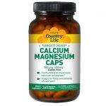 Country Life Target-Mins Calcium-Magnesium 360 Veg Caps Bone Health