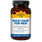 Country Life Maxi-Hair For Men 60 Soft Gels Men's Health