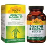 Country Life Coenzyme B-Complex Advanced 120 Veg Caps B Vitamins