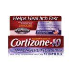 Cortizone Maximum Strength 10 Intensive Healing Formula 2 oz Cream