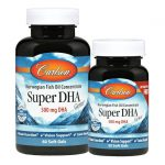 Carlson Super Dha Gems 500 mg 60 + 20 Free Soft Gels Essential Fatty Acids