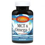 Carlson Mct & Omega-3 60 Soft Gels Essential Fatty Acids