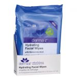 Derma E Hydrating Facial Wipes with Hyaluronic Acid 25 Wipes
