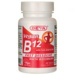 Deva Vegan B12 with Folic Acid & B6 – Fast Dissolve 90 Tabs B Vitamins