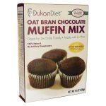 Dukan Diet Oat Bran Muffin Mix Chocolate 10 oz Package Weight Loss