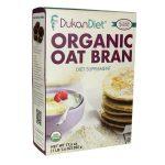 Dukan Diet Organic Oat Bran 17.6 oz Package Digestive Health and Fiber
