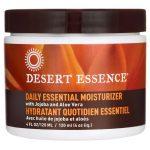 Desert Essence Daily Essential Moisturizer 4 oz Cream Skin Care
