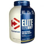 Dymatize Nutrition Elite 100% Whey Protein – Gourmet Vanilla 5 lbs Powder