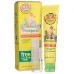 Earth's Best Toothpaste – Strawberry & Banana 1.6 oz Paste