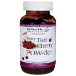 Eclectic Institute Fresh Freeze-Dried Raw Berry Tart Cherry Pow-der 144 Grams Powder Joint Health