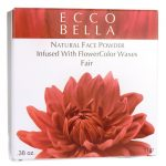 Ecco Bella Natural Face Powder Infused with Flowercolor Waxes – Fair 0.38 oz Unit