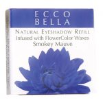 Ecco Bella Natural Eyeshadow Refill Infused with Flowercolor – Mauve 0.12 oz Unit