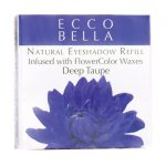 Ecco Bella Natural Eyeshadow Refill Infused with Flowercolor – Taupe 0.12 oz Unit