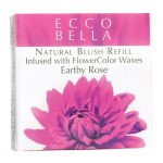 Ecco Bella Natural Blush Refill Infused with Flowercolor – Earthy Rose 0.12 oz Unit