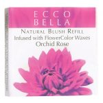Ecco Bella Natural Blush Refill Infused with Flowercolor – Orchid Rose 0.12 oz Unit