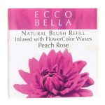 Ecco Bella Natural Blush Refill Infused with Flowercolor – Peach Rose 0.12 oz Unit