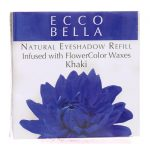 Ecco Bella Natural Eyeshadow Refill Infused with Flowercolor – Khaki 0.12 oz Unit