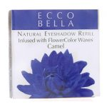 Ecco Bella Natural Eyeshadow Refill Inufsed with Flowercolor – Camel 0.12 oz Unit