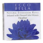 Ecco Bella Natural Eyeshadow Refill Inufsed with Flowercolor – Heather 0.12 oz Unit