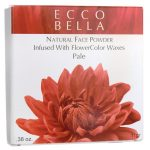 Ecco Bella Natural Face Powder Infused with Flowercolor Waxes – Pale 0.38 oz Unit