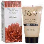 Ecco Bella Flowercolor Foundation – Light Beige 1 fl oz Liquid