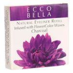 Ecco Bella Natural Eyeliner Refill Infused with Flowercolor Waxes – Charcoal 0.12 oz Unit