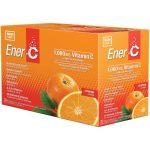 Ener-C Vitamin C Effervescent Powdered Drink Mix – Orange 1,000 mg 30 Packets Multivitamins