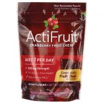 Enzymatic Therapy Actifruit Cranberry Fruit Chew 20 Chews